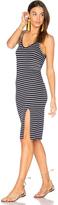 Stateside Stripe Midi Dress