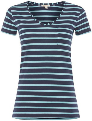 Barbour Lifestyle Waveson Striped T Shirt