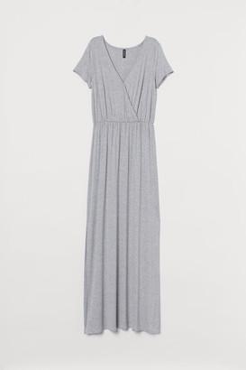 H&M Jersey Maxi Dress - Gray