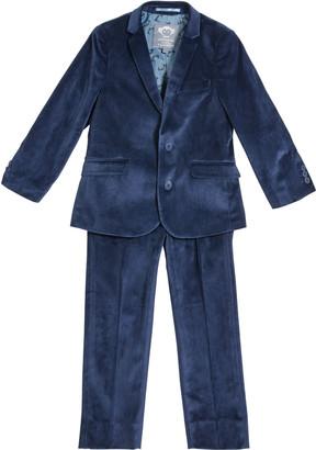 Appaman Boy's Two-Piece Velour Mod Suit, Size 2-14