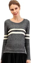 Sweet Mommy Maternity and Nursing Organic Cotton Sweater In Placement Stripe CHWHM