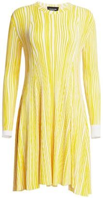 Calvin Klein Knit Crewneck Dress