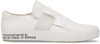 Zucca Elastic-Strap Slip-On Trainers