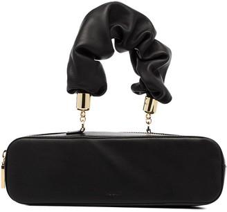 THE SANT Furoshiki leather box bag