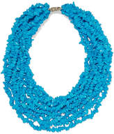 Rosantica Fato Stone Necklace - Blue