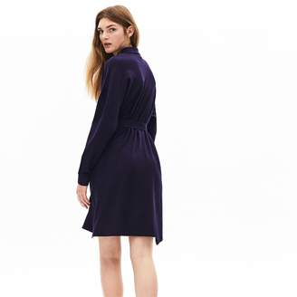 Lacoste Women's Dolman-Sleeve Pique Polo Dress