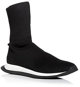Rick Owens Drkshdw Men's Runner Stretch Sock High Top Sneakers