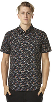 RVCA Party All The Tone Ss Mens Shirt Black