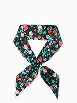 Kate Spade Greenhouse skinny scarf