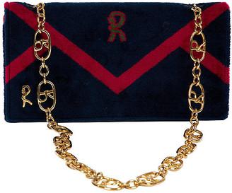One Kings Lane Vintage 1976 Roberta di Camerino Velvet Bag - Vintage Lux