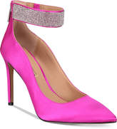 INC International Concepts I.n.c. Women's Kaylynn Ankle-Strap Evening Pumps, Created for Macy's Women's Shoes