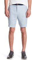 Tailorbyrd Solid Linen Shorts