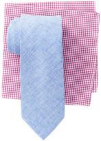 Alara Brooklyn Solid Tie & Pocket Square Box Set