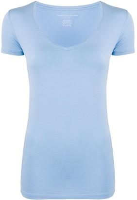 Majestic Filatures slim fit V-neck T-shirt