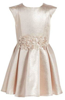 Halabaloo Rose Gold Dress