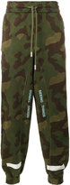 Off-White Camouflage Printed Trousers