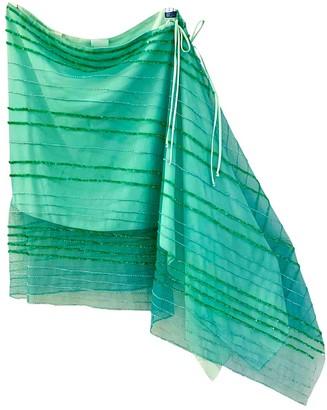 Gianfranco Ferre Turquoise Skirt for Women Vintage