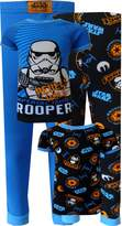 Komar Kids Star Wars Rebels Imperial Force Storm Troopers 4 Pc Toddler Pajamas for boys