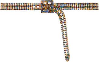 Veronica Beard Orion Multicolor Crystal Belt
