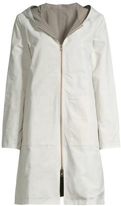 Eileen Fisher Longline Zip-Up Jacket