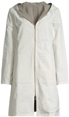 Eileen Fisher Longline Zip-Up Jacket