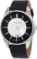 Pierre Petit Le Mans Men's 40mm Calfskin Stainless Steel Case Watch P-783A