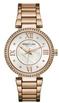 Kenneth Cole Classic Mother-Of-Pearl Dial Battery Powered Analog Watch