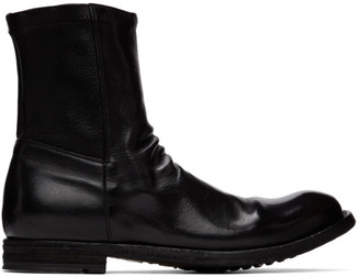 Officine Creative Black Journal 7 Boots