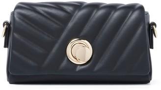 Forever New Tiana Embossed Quilt Crossbody Bag - Black - 00