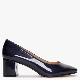 Laceys Cali Space New Navy Patent Court Shoes
