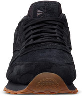 Reebok Men's Classic Leather Embossed Casual Sneakers from Finish Line