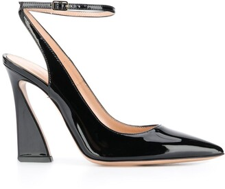 Gianvito Rossi Varnished Finish Pumps