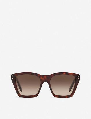 Celine CL40090I acetate cat-eye sunglasses