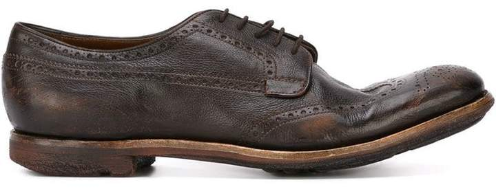 Church's brogue detailing shoes