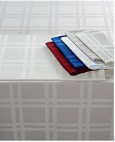 Martha Stewart Table Linens, Skylight Plaid Tablecloth