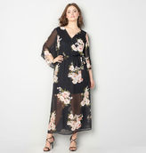 Avenue Sheer Floral Maxi Dress