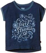 Levi's Girl's Printed T-Shirt - Blue -