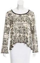 Sonia Rykiel Printed Long Sleeve Top