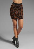 Torn By Ronny Kobo Celine Skirt