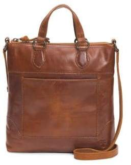 Frye Small Melissa Leather Tote Crossbody