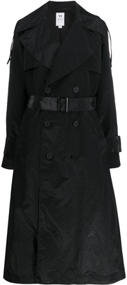 Y-3 Long-Length Trench Coat