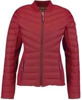Hollister Co. Down jacket Bordeaux