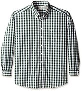 Dockers Big-Tall Long Sleeve Button Down Collar Gingham Shirt