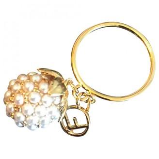 Fendi Gold Metal Rings