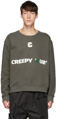 Xander Zhou Grey Pullover Sweatshirt