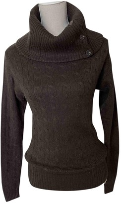 Ralph Lauren Brown Cashmere Knitwear