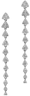 Bloomingdale's Diamond Long Linear Drop Earrings in 14K White Gold, 0.62 ct. t.w. - 100% Exclusive