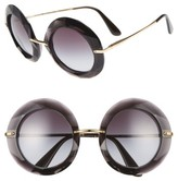 Dolce & Gabbana Women's 50Mm Round Sunglasses - Crystal
