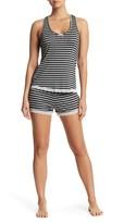 Honeydew Intimates Striped Tank & Shorts Pajama 2-Piece Set