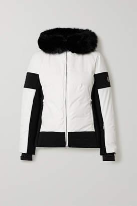 Fusalp - Gardena Iii Hooded Faux Fur-trimmed Down Ski Jacket - White